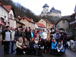Королевский град Карлштейн - один из самых красивых замков Чехии